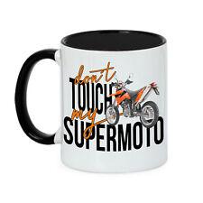 Tasse  DONT TOUCH MY BIKE SUPERMOTO Motorrad  Kaffee Siviwonder