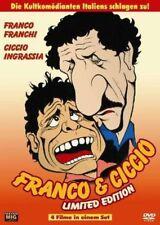 4 Filme mit Franco & Ciccio u.a Zwei Trottel gegen Goldfinger, ein General, Djan