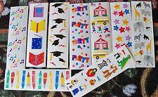 Mrs Grossman's 2 x 6.5 Sticker Strips Variation Themes-U Chose One- New.