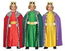 Kings Queens Viola Mantello Cloak wise man Natività Costume