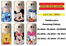 "Funda Samsun Galaxy J3 J5 J7 disney ""Envío desde España"""
