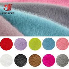 Roll Faux Fur Fabric Rabbit Hair Plush Imitation Fur Tecidos Cloth Stoffen DIY