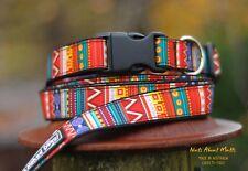 Tribal Ethnic dog collar med, large, x-large