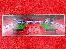 World Snooker Championship 2012 HAND SIGNED Snooker Autograph Photo AFTAL COA