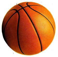 "4.5-8"" BASKETBALL SPORTS BALL  WALL SAFE  STICKER CHARACTER BORDER"