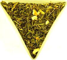 Earl Grey DECAFFEINATO sano tè verde Sencha sciolto foglia CAFFEINE FREE China