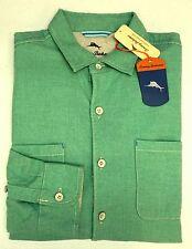 NWT Tommy Bahama Long Sleeve Green Shirt Mens XLT 2XB 2XT 3XT 3XB Button Down