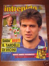 INTREPIDO SPORT 1989/13 BERTI TEOCOLI FUSER DIAZ INTER