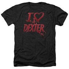 DEXTER I HEART DEXTER T-Shirt Men's Heather Short Sleeve