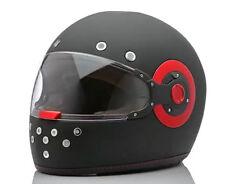 Casque integral moto SMK ELDORADO noir/rouge XS / S / M / L / XL