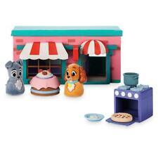 Disney Store Jock Marie Tony Colette Furrytale amigos primera casa Playset