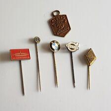 Vintage 1960s Renault BMW Volvo VW Oldsmobile Automobile Stick Pin Lapel Hat Pin