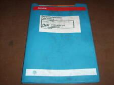Werkstatthandbuch VW Polo 6 N 1AV Einspritzanlage