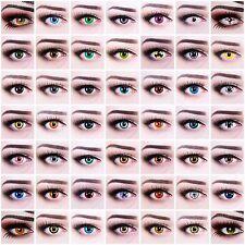 SONDERANGEBOT AUSVERKAUF crazy farbige Kontaktlinsen mit Behälter Halloween FUN