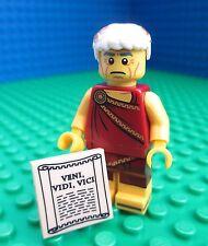 Lego Julius Ceasar Minifig City Town Roman Senator Laurels Figure 71000 Series 9