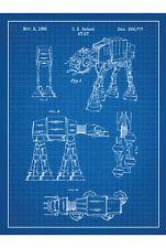Star Wars en plan pared arte cartel impresión T411