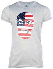 True Rock Men's American Mask Slim Fit Shirt