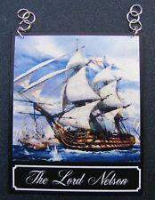 1:12 scala il Lord Nelson PUB segno DOLLS HOUSE miniatura BAR-Tavern Accessorio