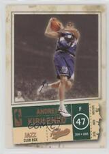 2004-05 Fleer Authentix Club Box #4 Andrei Kirilenko Utah Jazz Basketball Card