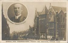 Queens Park Congregational Church & Institute, Harrow Road. Rev J Lawson Forster