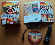 Wii Spiel Disney SingIt Pop Hits