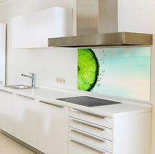 Spritzschutzwand aus Glas, Motiv Lime für Ihre Küche oder als Bild