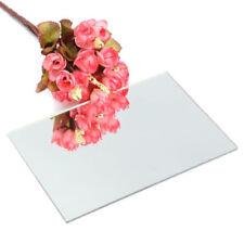 2.5mm Clear Mirror Acrylic Plexiglass Perspex Plastic Sheet Safety Multi Size