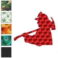 Fireman Axe Decal Sticker Choose Pattern + Size #857