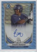 2014 Bowman BCAP-EM Edwin Moreno New York Yankees Auto Autographed Baseball Card