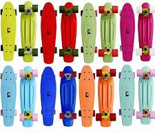 Ram Retro Skateboard Minicruiser Old school Vinyl Longboard nicht Penny Neu