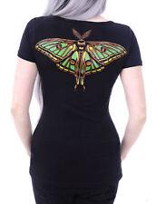 Restyle T-Shirt Shirt Motte Mond Moon Moth