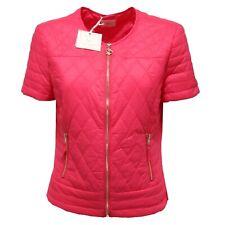 7215O giubbotto manica corta MAISON ESPIN fucsia giubbotto donna jacket woman