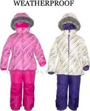 NEW WEATHERPROOF GIRLS WINTER COAT & BIB PANT SET! SKI/BOARDER SNOW SETS VARIETY
