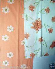 2 coupons de tissu de luxe d'ameublement 85x50cm + 105x50cm TONOS saumon tissus