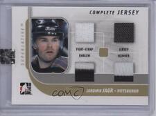2007-08 In the Game Superlative Complete Jersey Silver #CJ-06 Jaromir Jagr Card