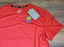 Tek Gear Performance Short Sleeve Top The Drytek Tee Red Mens Training Shirt
