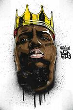 HY737 Art Poster The Notorious B.I.G Biggie Smalls Hip Hop Gangsta Rap Print