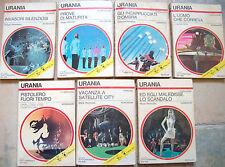 1975 7 ROMANZI URANIA SILVERBERG ELWOOD HOLLY WELLEN MACK REYNOLDS...