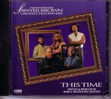 Sawyer Brown This Time COOL BAND PIC PROMO DJ CD Single