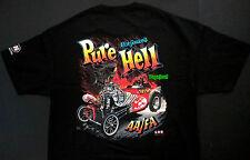 PURE HELL Rich Guasco's Drag Racing AA Fuel Altered T Shirt Austin Bantam Hemi