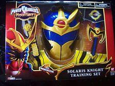 Power Rangers Mystic Force Solaris Knight Training Set Ages 4+ Vintage