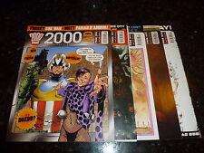 2000 AD Comic - 5 PROG JOB LOT - No's 1610 - 1604 (Dates 29/10/08 : 26/11/08 )