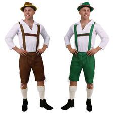 MENS OKTOBERFEST BAVARIAN COSTUME GERMAN BEER GUY LEDERHOSEN ADULTS FANCY DRESS