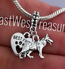 German Shepherd, Shepherd Dog jewelry pendant Fit Bracelet necklace-European