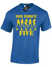 FOX FORCE FIVE MENS T-SHIRT FUNNY RETRO KILL TARANTINO DESIGN BILL CLASSIC FUNNY