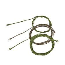 45lb Leadcore Leaders Looped Carp Fishing Tackle 2 Colours, 3 Length Ij