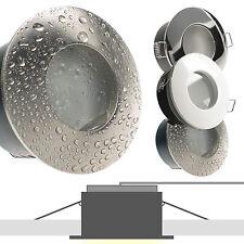 LED Set Einbau Strahler IP65 230V 5W dimmbar nur 50 mm ET Feuchtraum Bad NAUT65