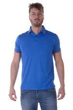 Trussardi Jeans Polo Shirt -30% Man Blues 52T120XX-46