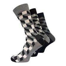 4-12 Pair Ralph Lewis Men Women Unisex Multi Coloured Design Socks UK Sizes 6-11