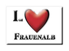 DEUTSCHLAND SOUVENIR - BADEN WÜRTTEMBERG MAGNET FRAUENALB (KARLSRUHE)
